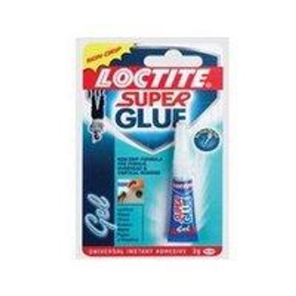 Loctite Power Easy Gel Super Glue Tube (3g) - 1988289