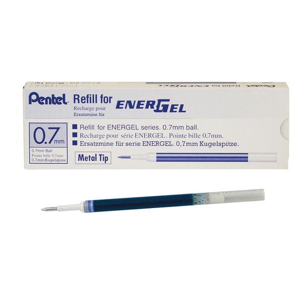 Pentel EnerGel Refill 0.7mm Blue (Pack of 12) LR7-CX