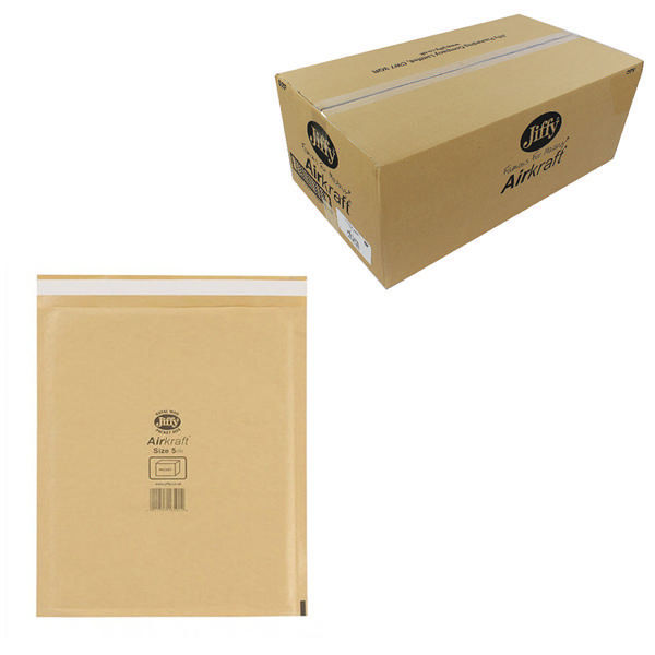Jiffy Airkraft Postal Bags 260x345mm Pack Gold   JL-GO-5