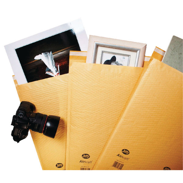 Jiffy Airkraft Gold Size 5 Mailers (Pack of 50) - JL-GO-5