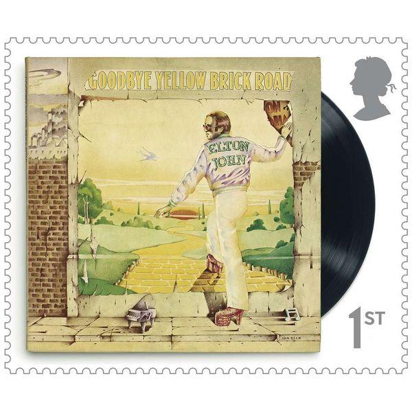 1st Class Stamps x 48 (Self Adhesive Stamp Sheet) - Elton John