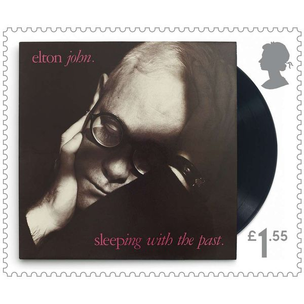 £1.55 Stamps x 48 (Self Adhesive Stamp Sheet) - Elton John