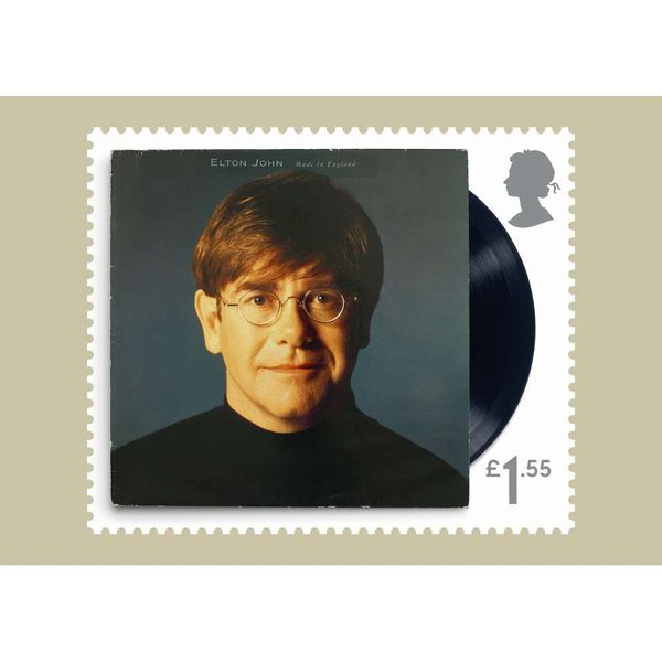 The Elton John Stamp Card Pack