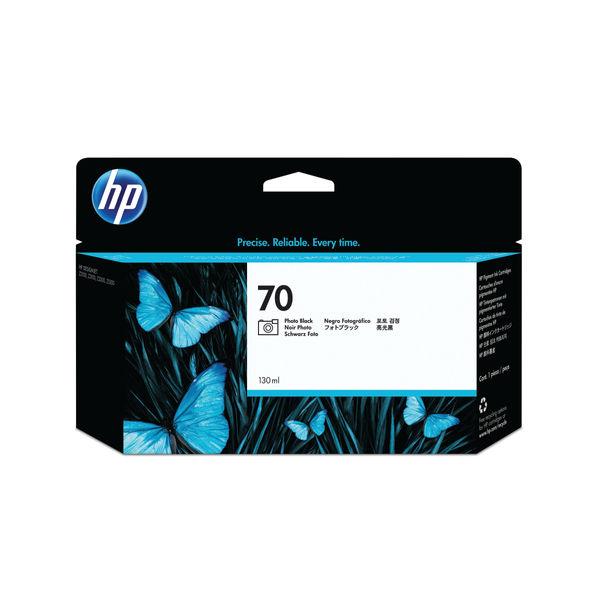 HP 70 Photo Black Inkjet Cartridge 130ml | C9449A