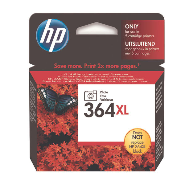 HP 364XL High Capacity Photo Ink Cartridge | CB322E