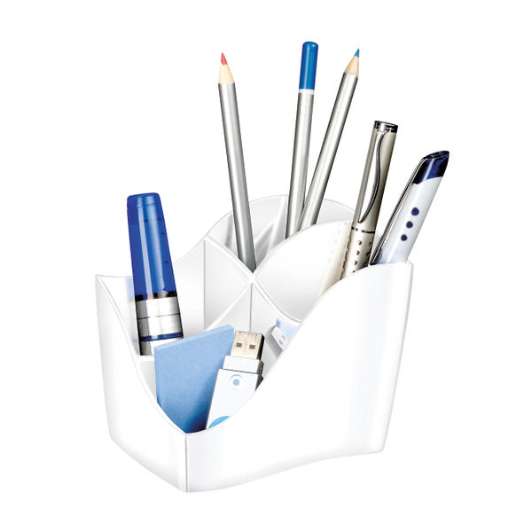 CEP Ellypse Xtra Strong Pencil Cup White 1003400021