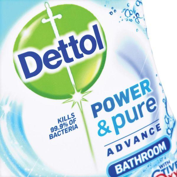 Dettol 750ml Power and Pure Advance Bathroom Spray - RB788783