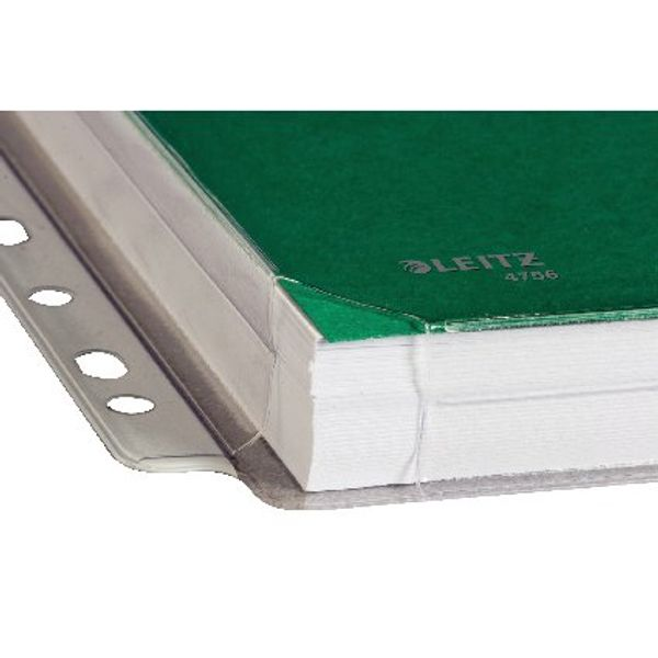 Leitz A4 Clear Reinforced Expanding Pockets (Pack of 5) 47188