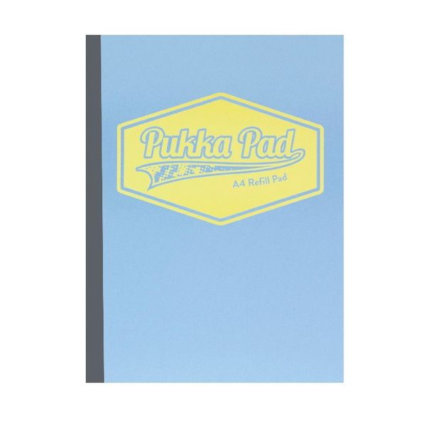 Pukka Pad Assorted Pastel A4 Refill Pad (Pack of 3) - 8902-PST