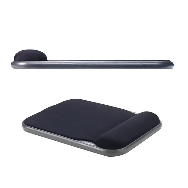 Kensington Black Height Adjustable Gel Mouse Pad - 57711