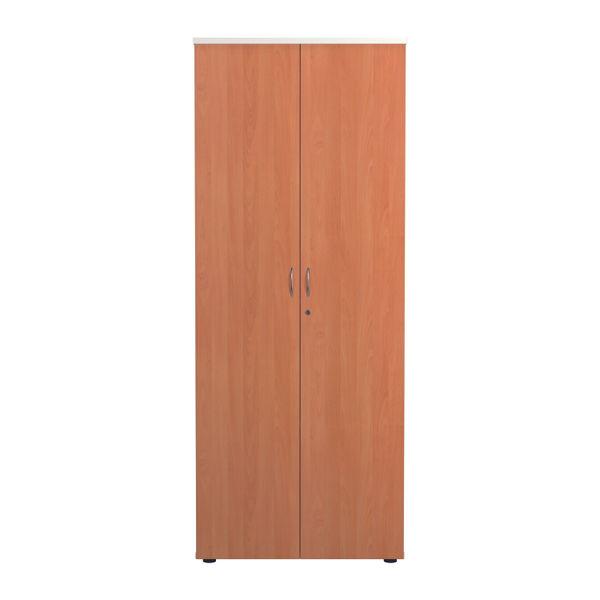 Jemini 2000 x 450mm White/Beech Wooden Cupboard