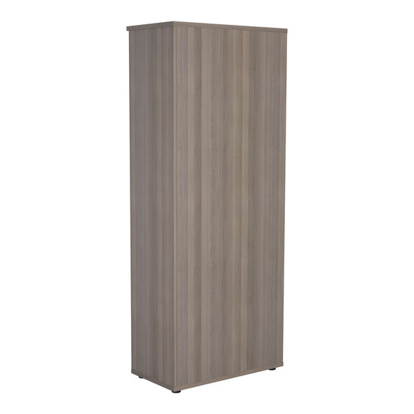 Jemini 2000 x 450mm Grey Oak Wooden Bookcase