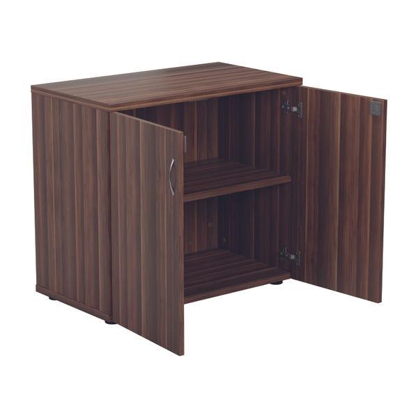 Jemini 700 x 450mm Dark Walnut Wooden Cupboard