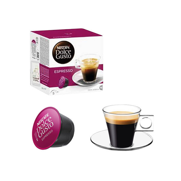 Nescafe Dolce Gusto Espresso Capsules (Pack of 48) 12423690