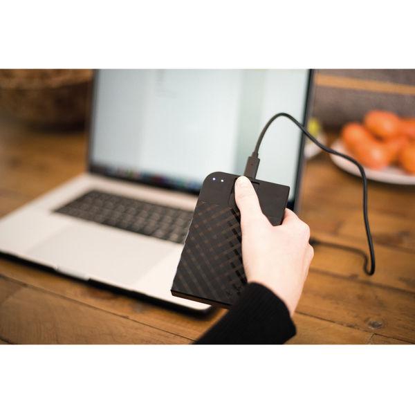 Verbatim 1TB Fingerprint Secure Portable Hard Drive - 53650