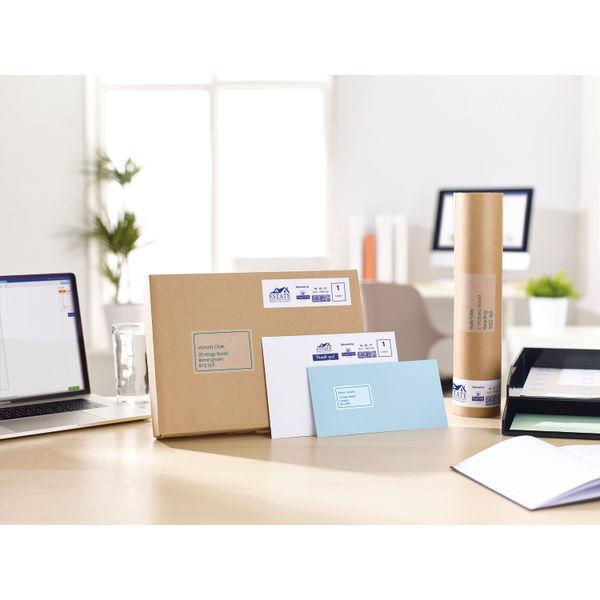 Avery Inkjet Address Labels 14 Per Sheet Clear (Pack of 350) J8563-25