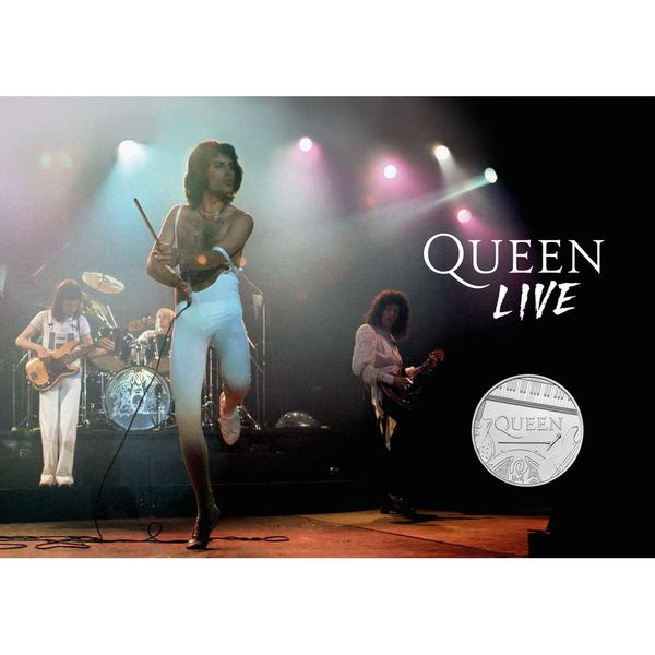 Queen Live! Coin Cover