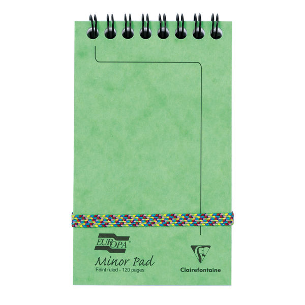 Europa Minor Notemaker 127x76mm Assorted C (Pack of 20) 3151