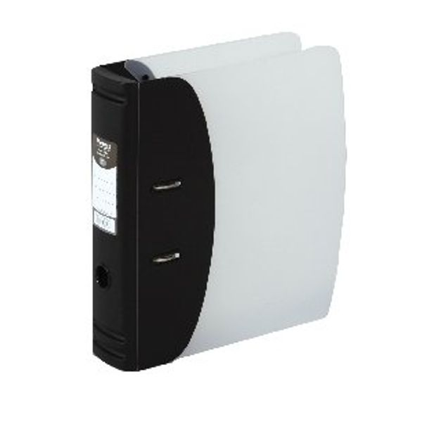 Hermes Black A4 Heavy Duty Lever Arch File, 80mm - 832001