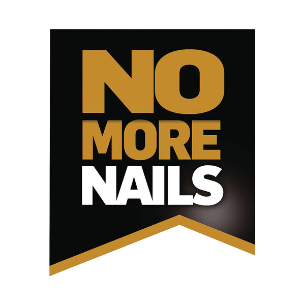 No More Nails Red Permanent Adhesive Strip 20mm x 40mm (Pack of 10)