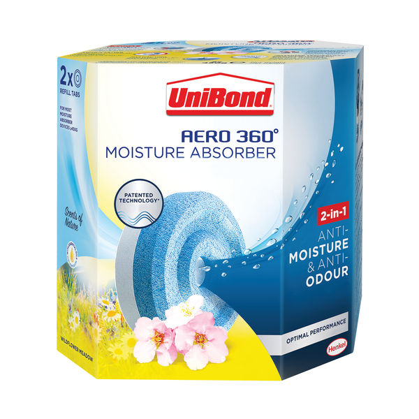 Unibond Aero 360 Wildflower Meadow Refill (Pack of 2) 2631292