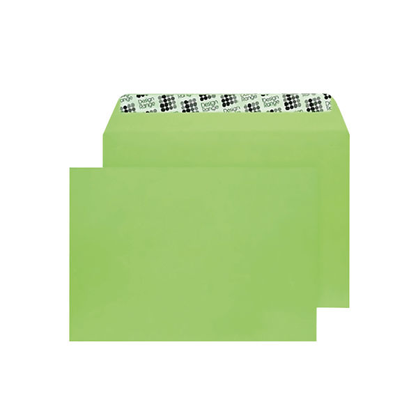 Blake C5 Envelopes Peel and Seal 120g Lime Green [250 Pack] BLK93018