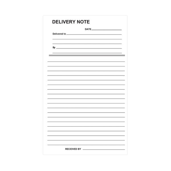 Silvine Carbon Delivery Duplicate Book (Pack of 6) - 613-T