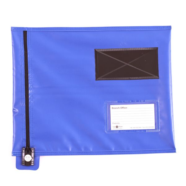 Gosecure Flat Mailing Pouch Blue CVF1