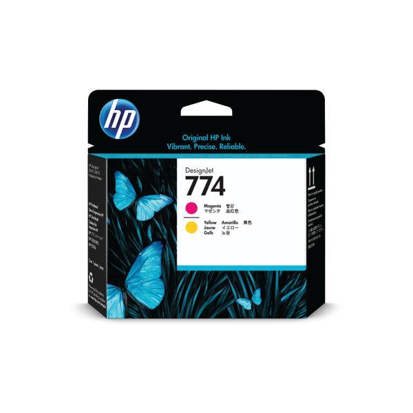 HP 774 Magenta and Yellow Printhead P2V99A