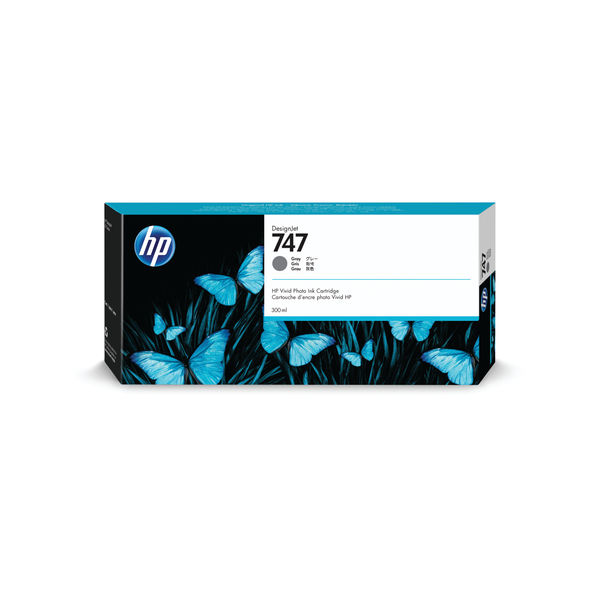 HP 747 300ml Grey Ink Cartridge P2V86A