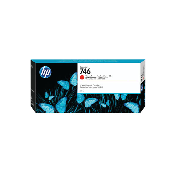 HP 746 Chromatic Red Ink Cartridge - P2V81A