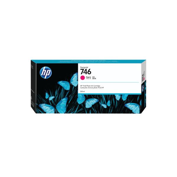 HP 746 300ml Magenta Ink Cartridge P2V78A