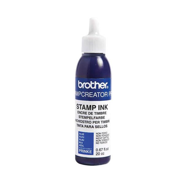 Brother Stamp Creator Ink Refill Bottle Blue PRINKE