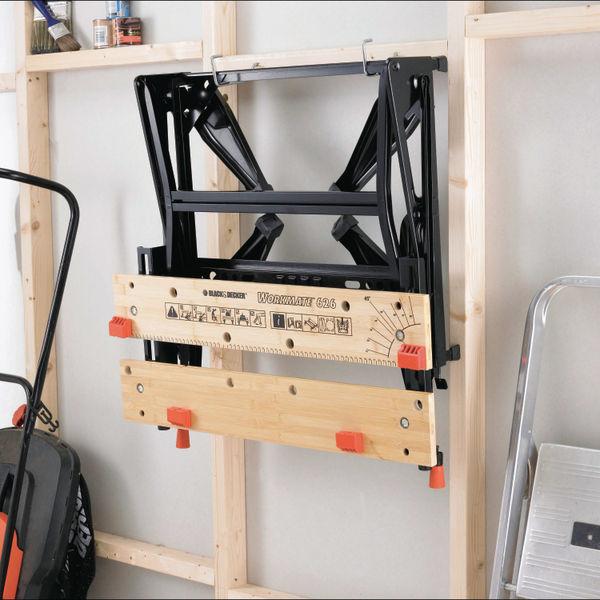 Black And Decker Workmate Dual Height Tough Workbench WM626-XJ