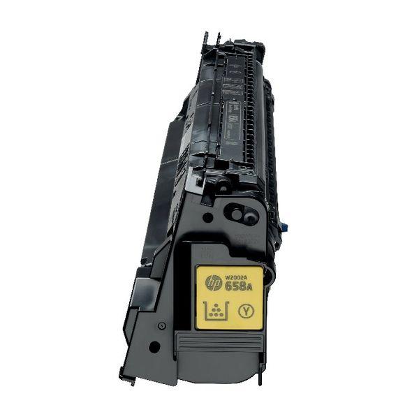 HP 658A LaserJet Toner Cartridge Yellow - W2002A
