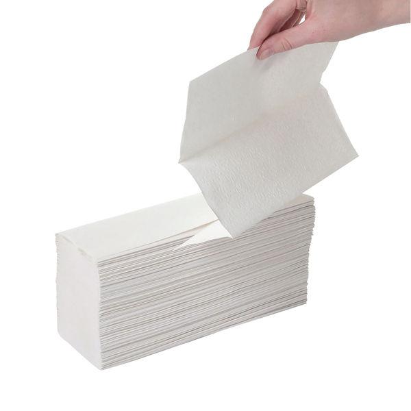 Leonardo 2-Ply Z-Fold Hand Towels White (Pack of 2250) HTL003DS