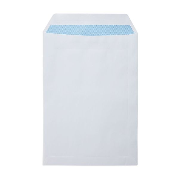 1st Class White C4 Plain Prepaid Envelopes, Pack of 100 - V9