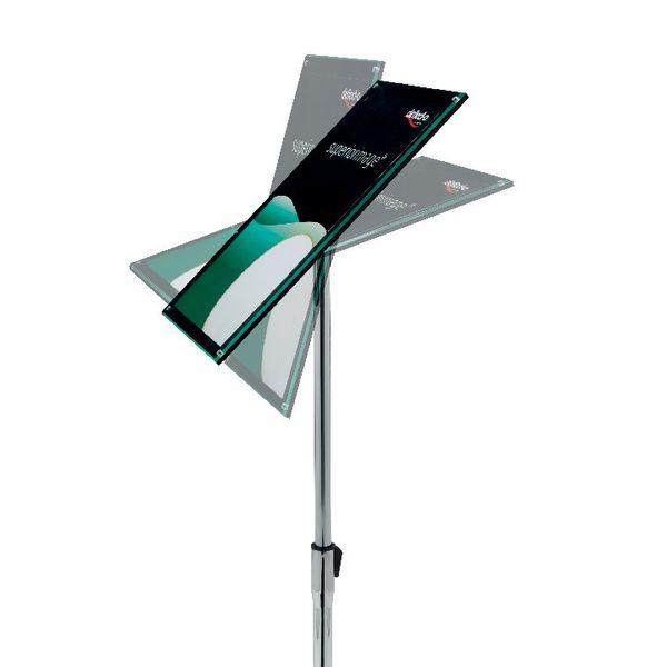 Deflecto Floor Sign Holder A3 DE790645