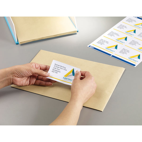 Avery Laser Address Labels 99.1 x 67.7mm, Pack of 2000 - L7165-250