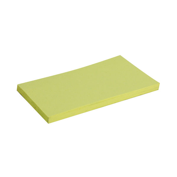 Post-it Notes Canary Yellow 76 x 127mm, Pack of 12 - 3M23460