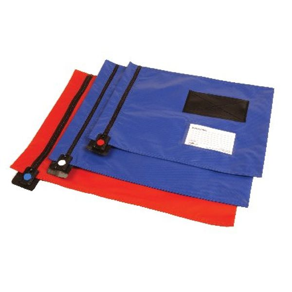 Go Secure Blue Flat Mailing Pouch 286x336mm CVF1