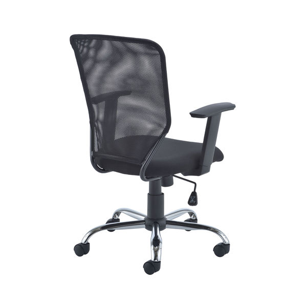 First Black Mesh Task Office Chair