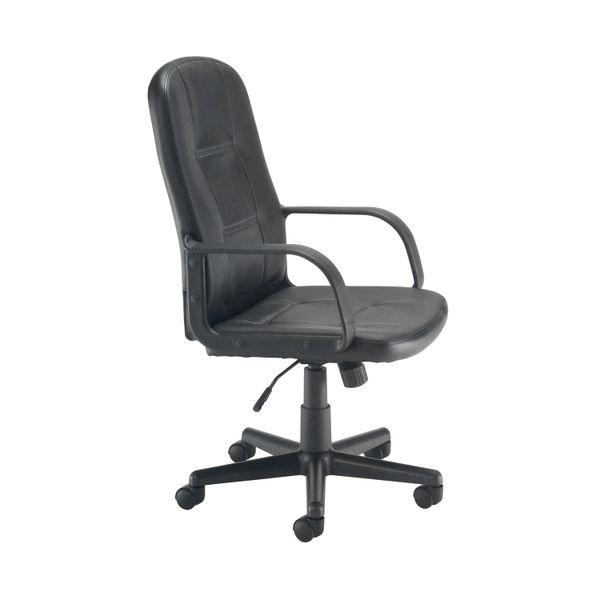 Jemini Jack 2 Black PU Executive Office Chair