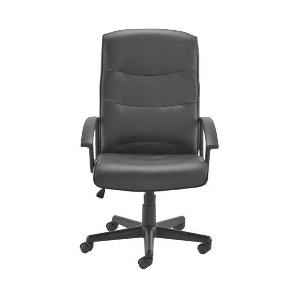 Jemini Hudson Black Executive Office Chair
