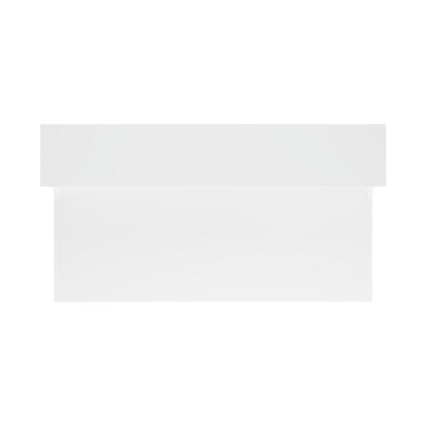 Jemini 1400mm White Reception Unit