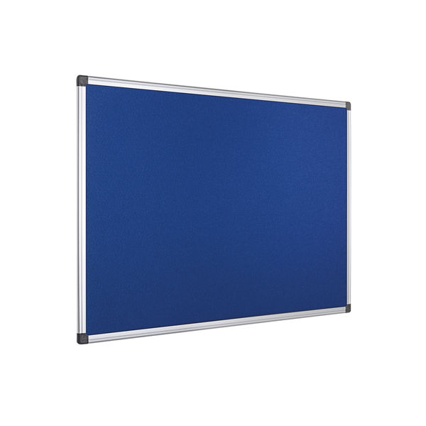 Bi-Office Blue Feltboard Aluminium Trim – FA0343170