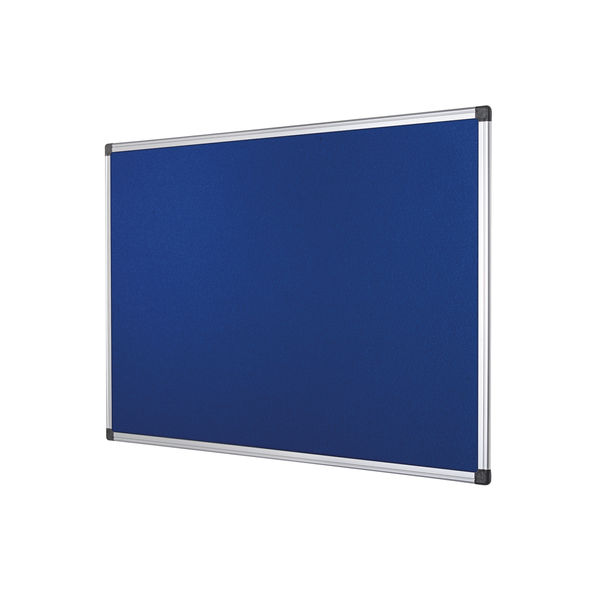 Bi-Office Blue 1200 x 900mm Feltboard - FA0543170