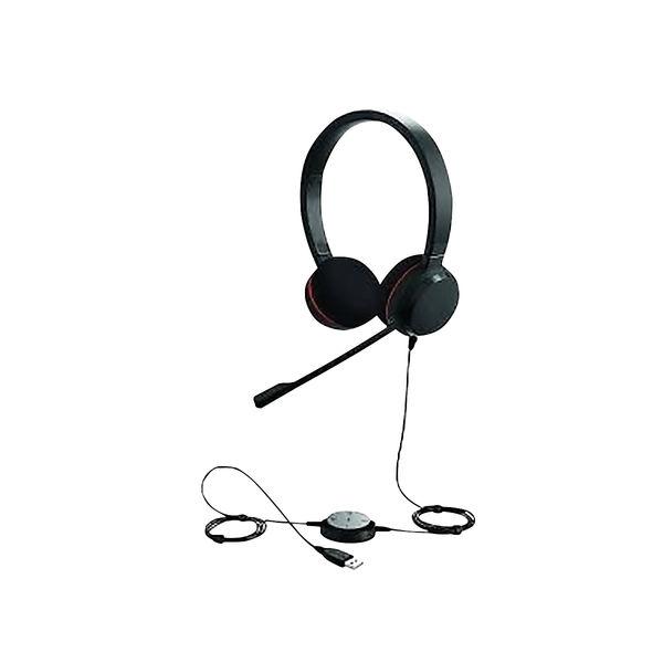 Jabra Evolve 20 MS Duo PC Headset 52645