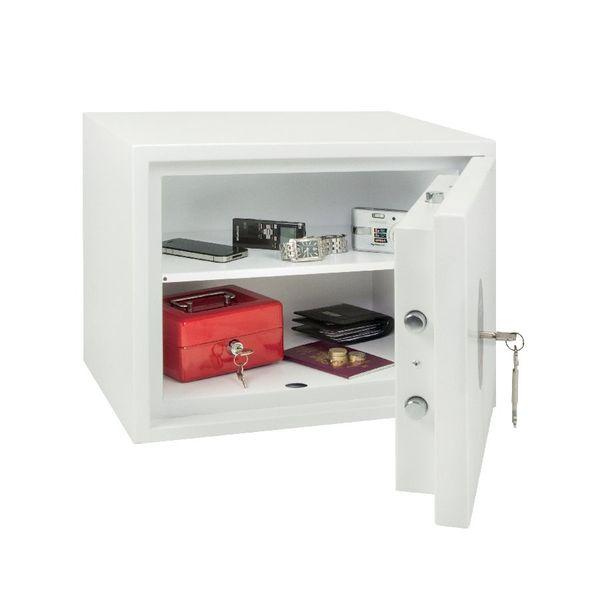 Phoenix Fortress High Security Burglary Safe White SS1182K