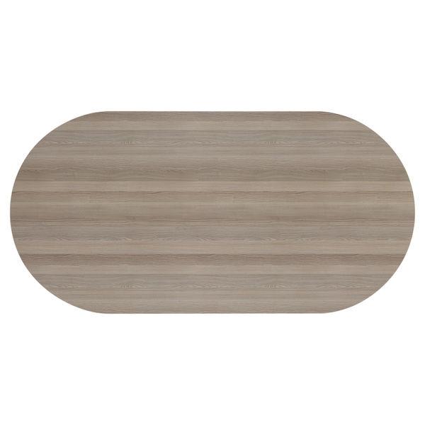 Jemini 2400mm Grey Oak Meeting Table
